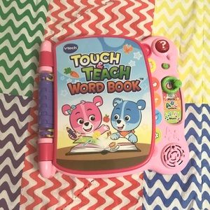 Vetch Touch and Teach Word Book